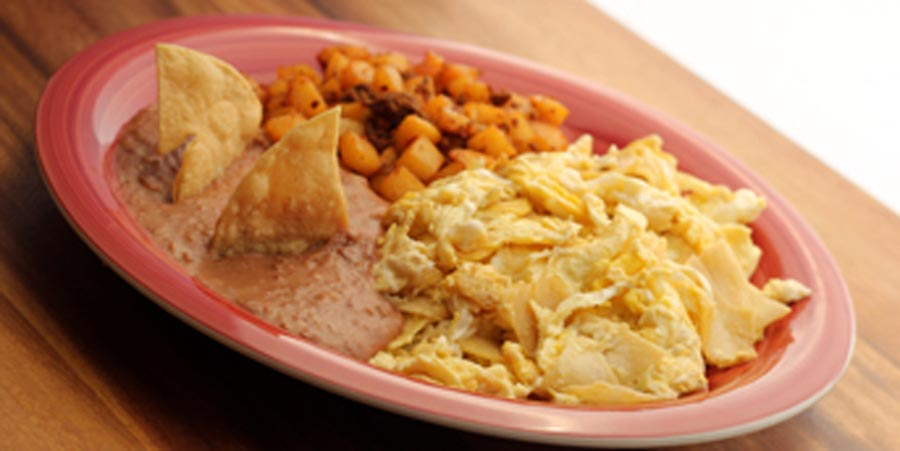 Migas with Eggs