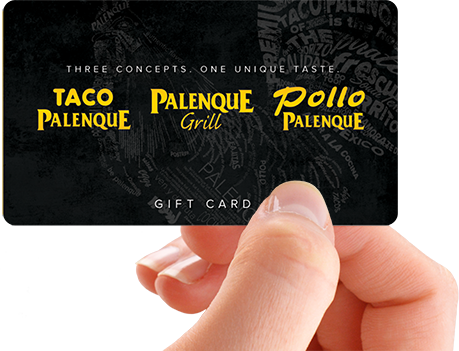 Taco Palenque Gift Card
